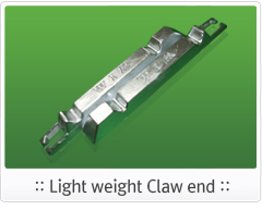 Light weight Claw end