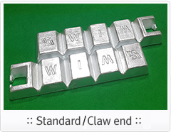 Standard / Claw end